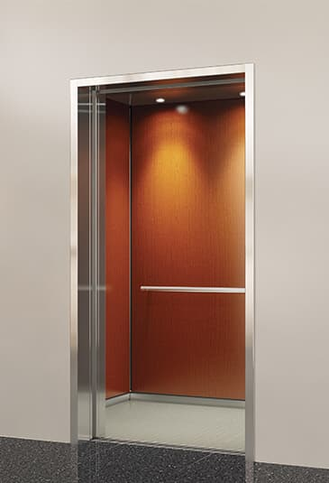 Elevator cabs that provide the perfect blend