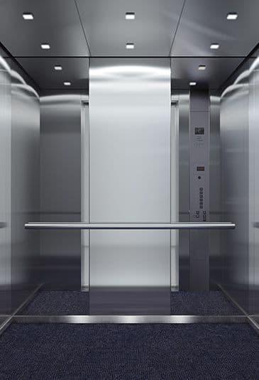 kone ascenseur kone ecospace pour immeubles de faible hauter. Black Bedroom Furniture Sets. Home Design Ideas
